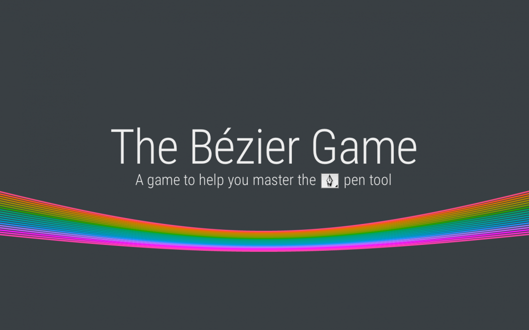 The Bézier Game – A game to help you master the pen tool