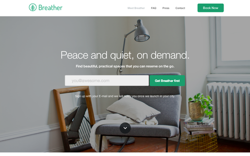 Breather – Peace and quiet on demand